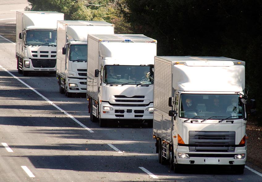 DVR para frota de caminhão